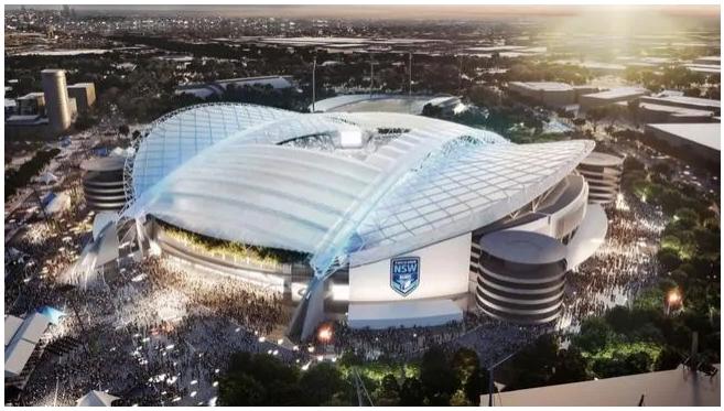 Les plans pour 810 millions de dollars de réaménagement du stade du parc olympique dévoilés
