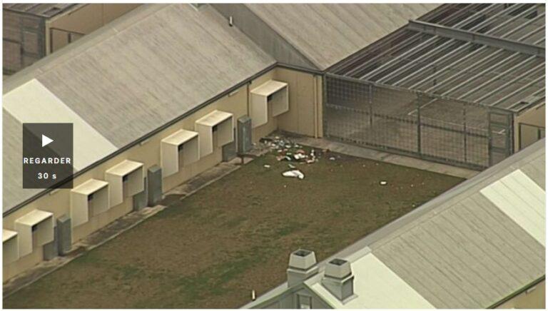 Incendie à la prison de Borallon, à l'ouest de Brisbane, le deuxième incendie de la prison du Queensland depuis le verrouillage du coronavirus