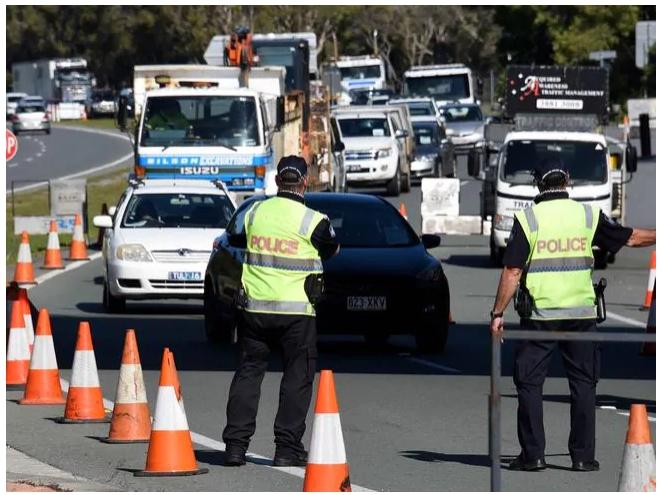NSW riposte: déplacez la frontière plus au nord